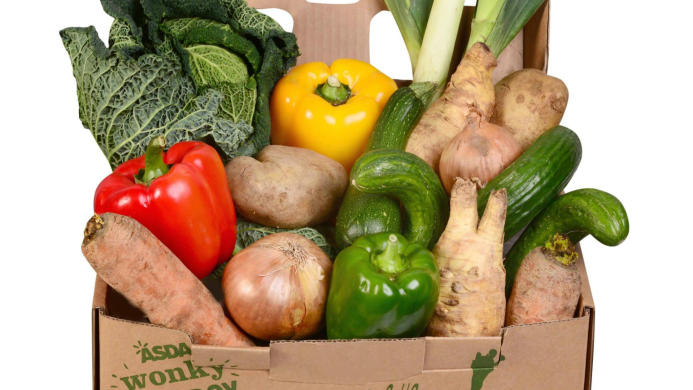 Supermarket's 'wonky veg' box is huge