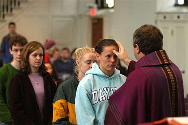 Ash Wednesday fasting before lent