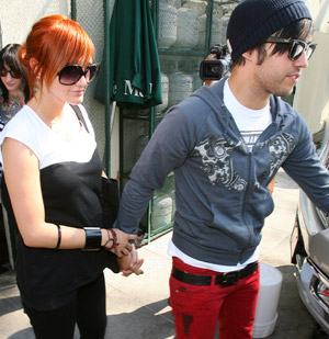 Ashlee and Pete in July 2008