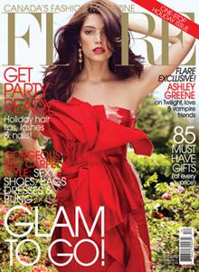 Ashley Greene Flare magazine