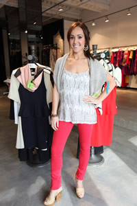 Ashley Hebert takes SheKnows to her favorite store in NYC