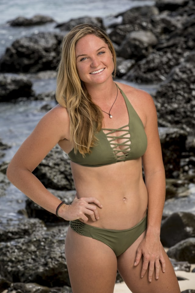 Ashley Nolan cast photo for Survivor: Heroes Vs. Healers Vs. Hustlers