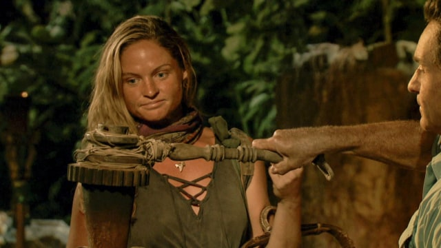 Ashley Nolan voted off Survivor: Heroes Vs. Healers Vs. Hustlers