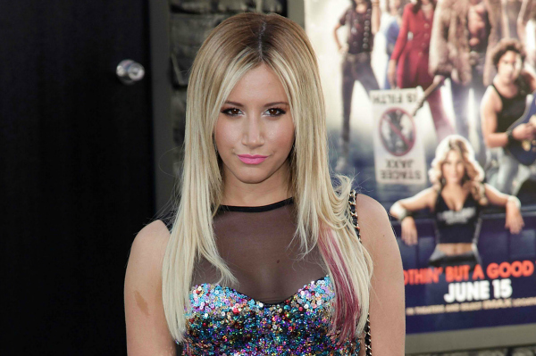 Ashley Tisdale at Movie Premiere