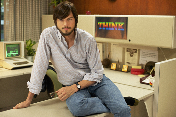 Ashton Kutcher ast Steve Jobs