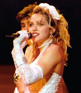 Madonna's 80s fashion
