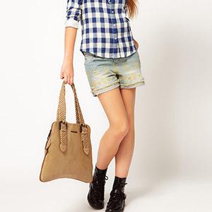 asos camel handbag