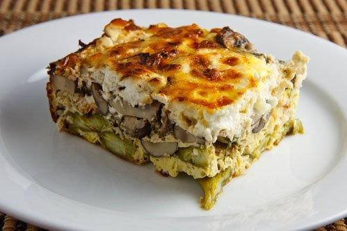 asparagus egg breakfast casserole