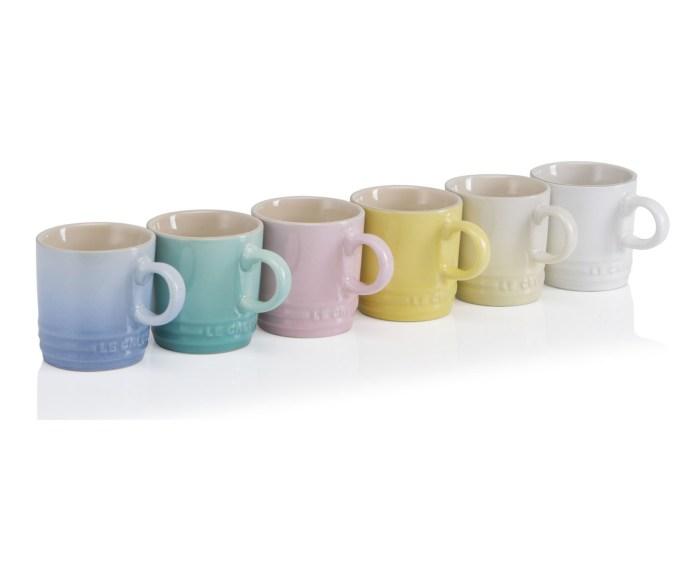 Sorbet Collection Espresso Mugs, Set of 6