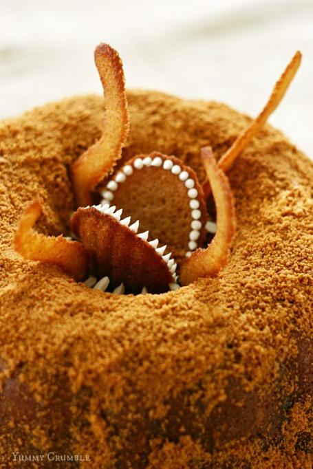 Star Wars Sarlacc Bundt cake