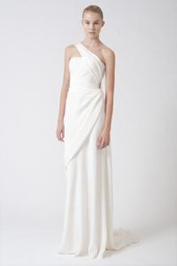 Grecian Goddess gown from Vera Wang