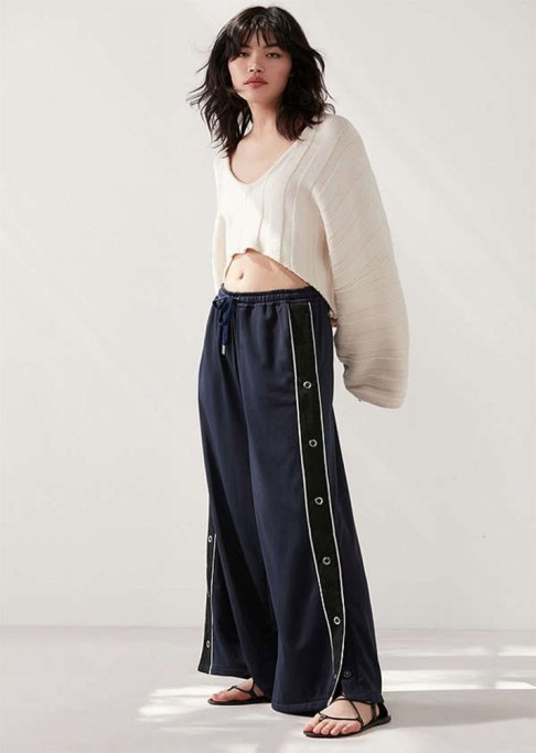 Track Pants to Shop Now: Silence + Noise Mel Wide-Leg Tearaway Pant | Summer Fashion Trends 2017