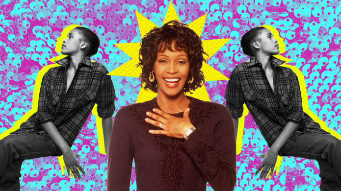 Custom image of Whitney Houston