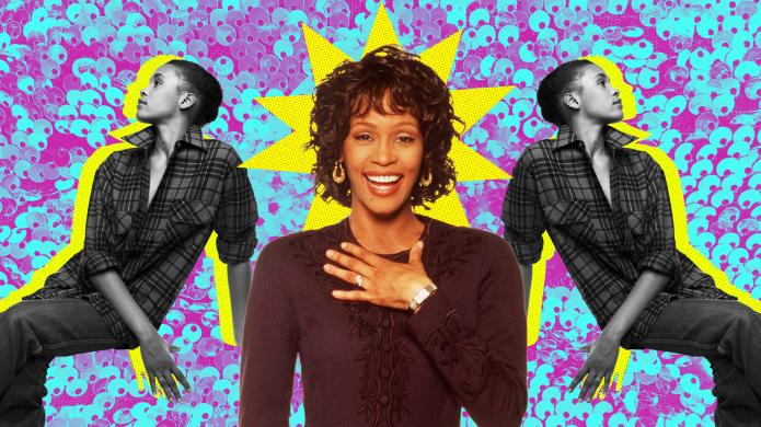 Custom image of Whitney Houston