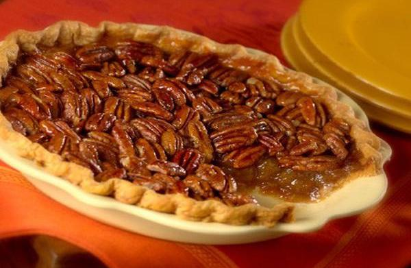 Gluten-free Thanksgiving pecan pie