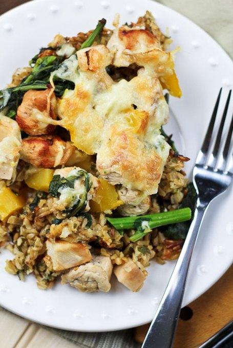 Recipe swaps to help your partner eat healthier | healthy casserole