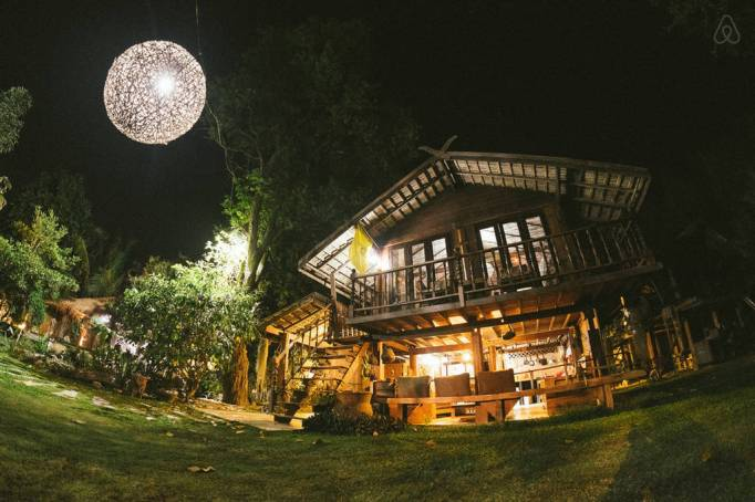 Last-Minute Valentine's Day Getaway on AirBnb: Rice Barn near Chiang Mai, Thailand
