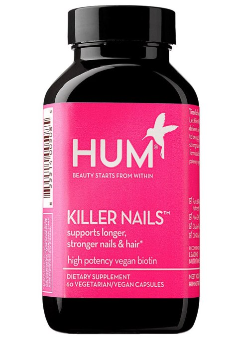 Underrated Beauty Supplements For Skin and Hair | For Your Digits: HUM Nutrition Killer Nails
