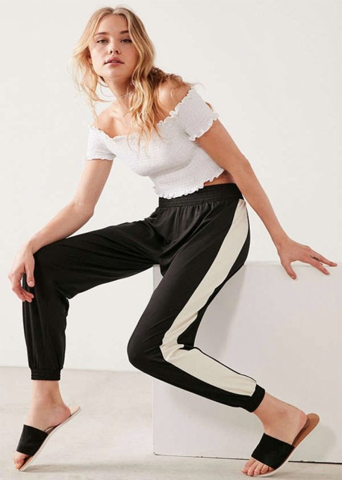 Track Pants to Shop Now: BDG Game Over Track Pant | Summer Fashion Trends 2017