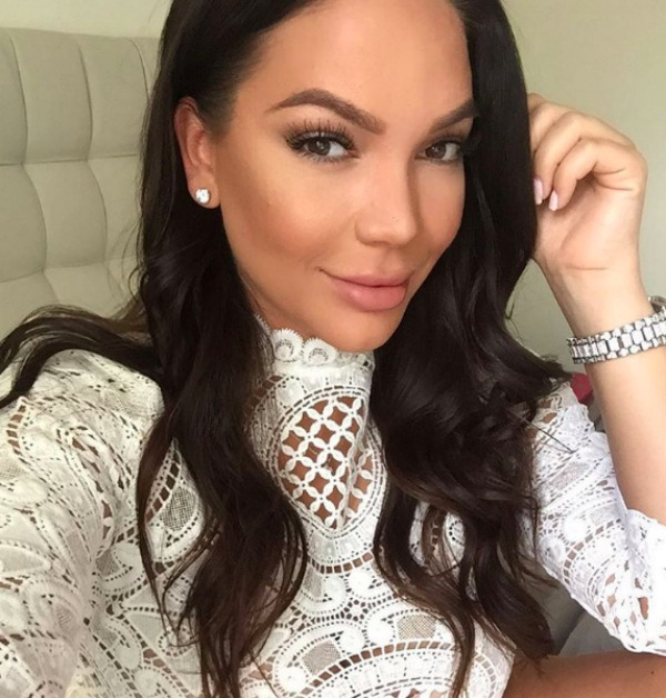 Jessica Parido selfie