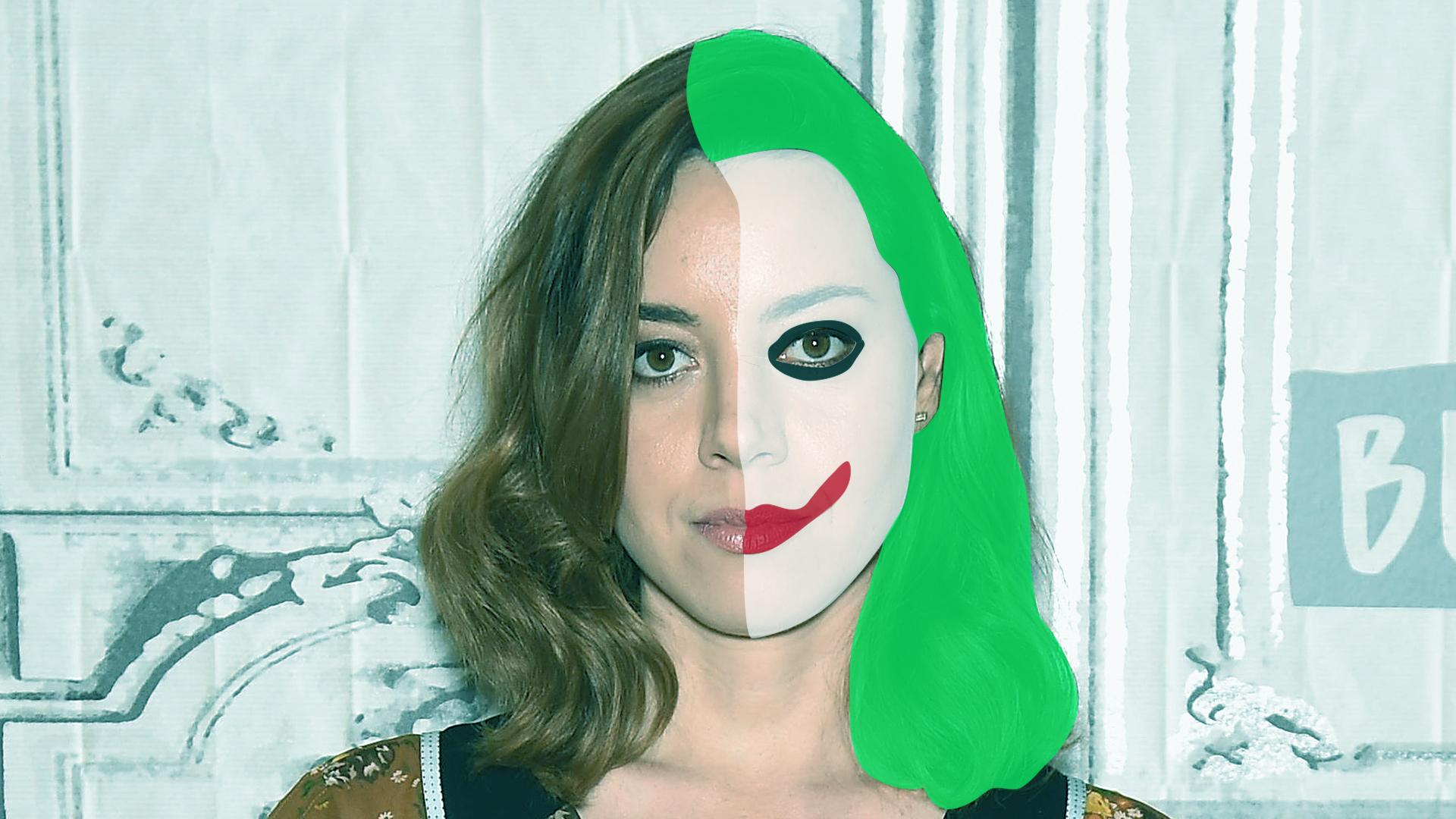 Aubrey Plazza Joker