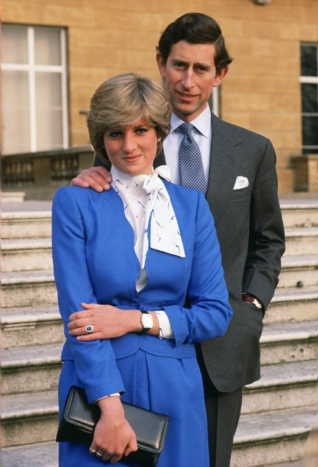 Iconic photos of Princess Diana: Charles and Diana's engagement
