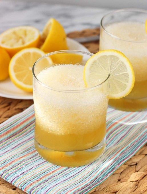Fruity, frozen, summery cocktails
