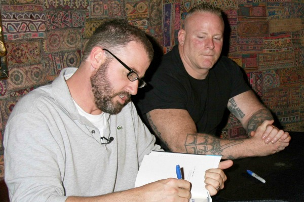 James Frey at a Booksigning