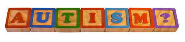 AUTISM in letter blocks