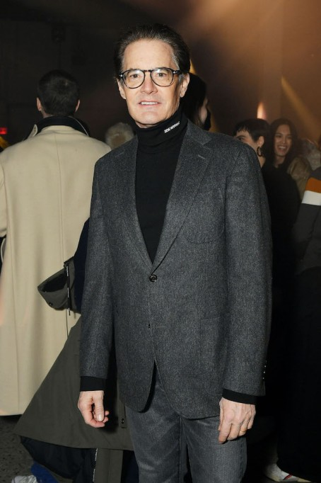 NYFW 2018 Celebrity Sightings: Kyle MacLachlan