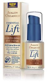 Avalon Organics Essential Lift Eye Contouring Cream