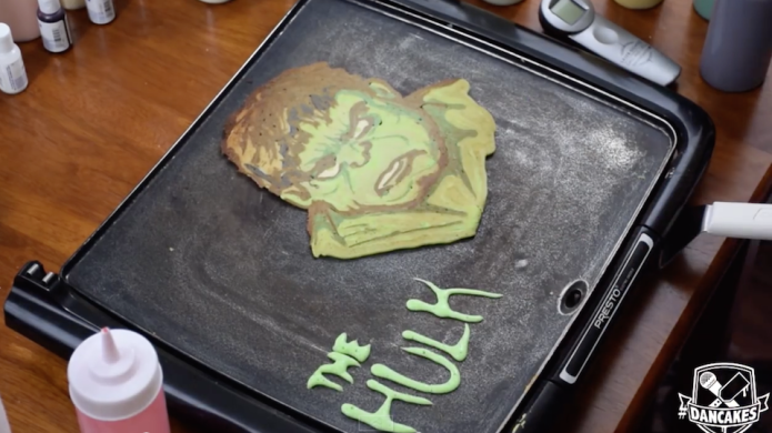 These Avengers pancakes put your flapjack