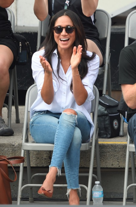 Fashion Traditions Meghan Markle Has Already Broken | Wearing Ripped Jeans