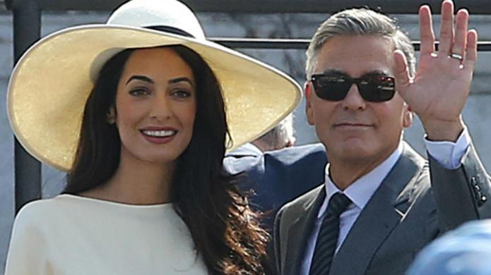 Amal Alamuddin: The latest celebrity style