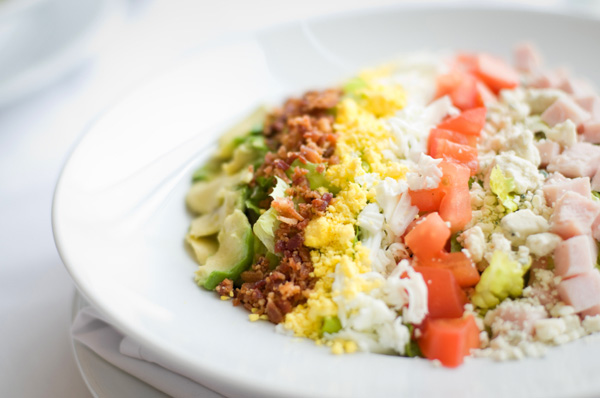 Avocado and citrus cobb salad