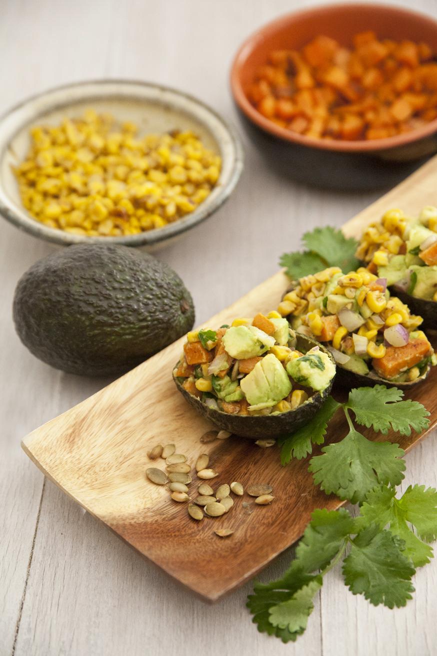 avocado and yam salad