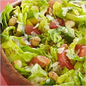 Avocado, Grapefruit, and Macadamia Nut Salad | Sheknows.com