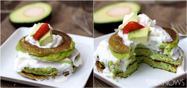 Avocado pancake