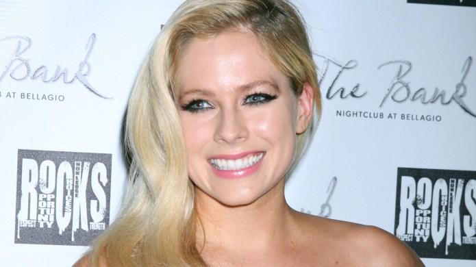 Avril Lavigne's positive attitude toward her