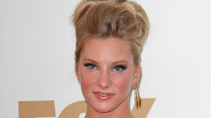 Heather Morris is gleeful about her