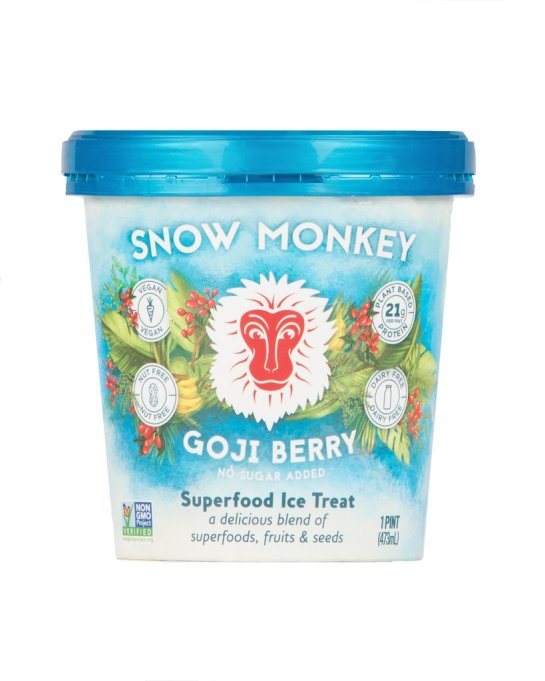 Snow Monkey goji berry pint