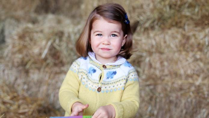 Queen Elizabeth II Says Princess Charlotte