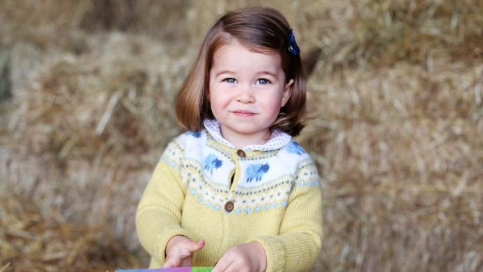 Queen Elizabeth II Says Princess Charlotte