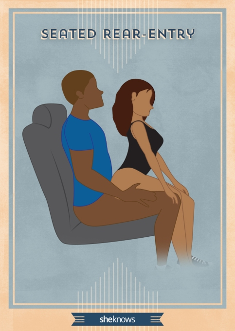 Seated Rear Entry sex position