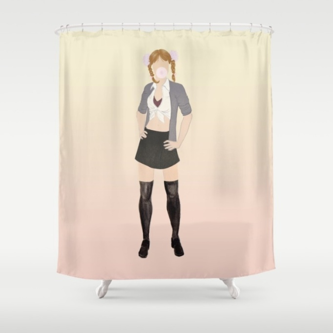 britney-spears-shower-curtain