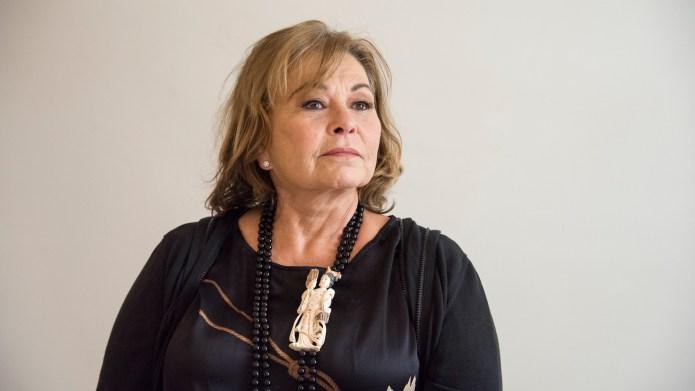 Roseanne Barr at the 'Roseanne' Press