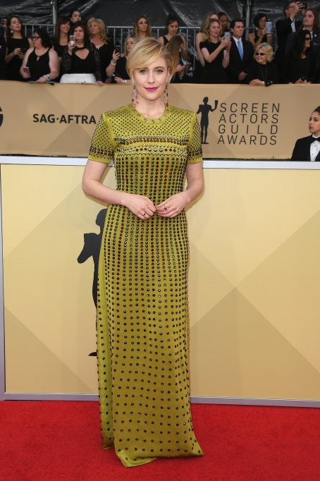 2018 SAG Awards Best Dressed: Greta Gerwig