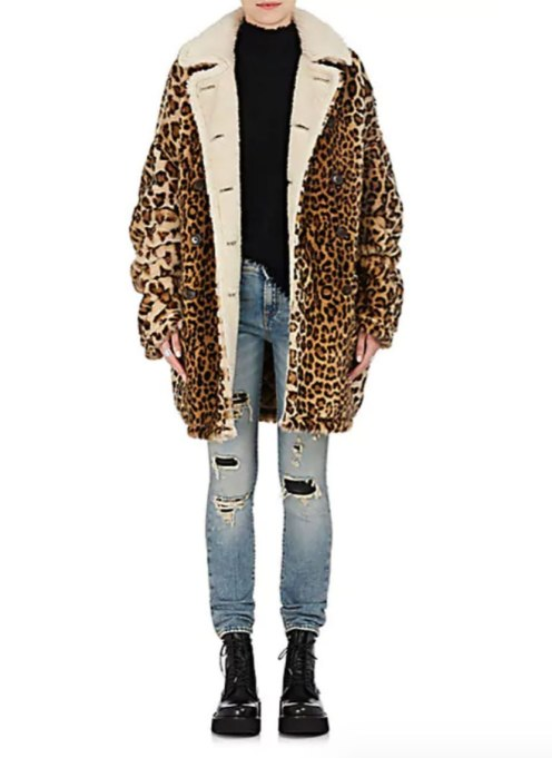 Perfect to Wear Shearling This Season | Cheetah code