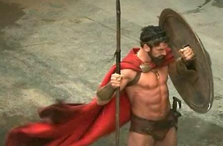 Hot Men With Swords