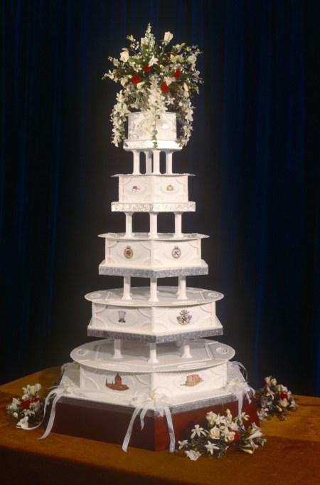 Prince Charles & Princess Diana wedding cake